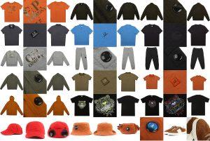 Flat clothing photogrpahy
